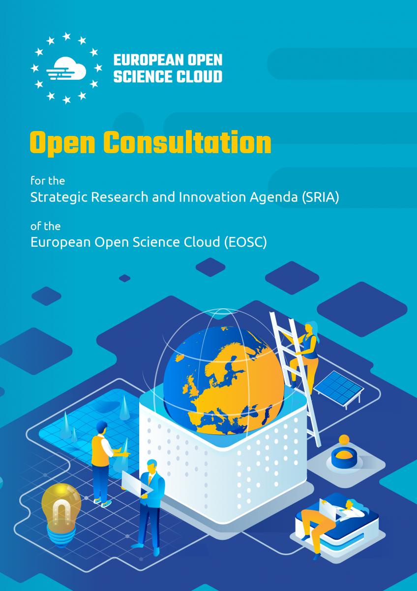 Open Consultation SRIA document front page