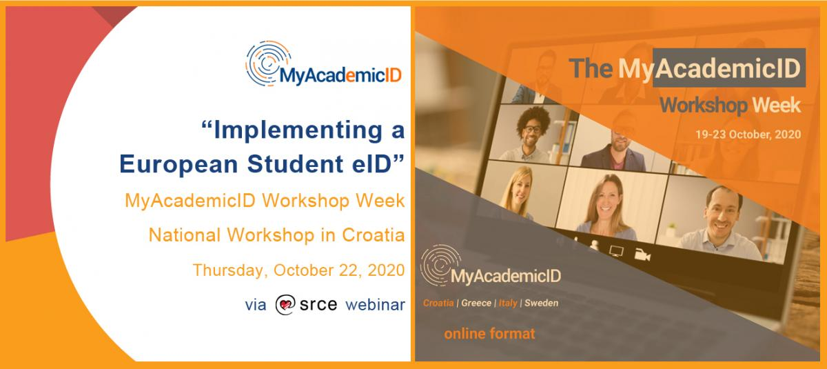 "Online radionica Srca ""Implementing a European Student eID"""